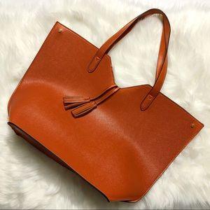 Neiman Marcus Orange Tote Bag
